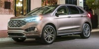 New, 2019 Ford Edge SEL, Blue, HB20339-1