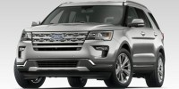 New, 2019 Ford Explorer XLT, Red, HB20340-1