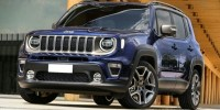 New, 2019 Jeep Renegade Latitude, White, JK453-1