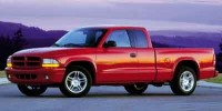 Used, 2002 Dodge Dakota SLT, Gold, P2082-1