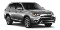 New, 2019 Mitsubishi Outlander SE, White, 16668-1