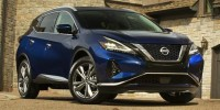 Used, 2019 Nissan Murano Platinum, Blue, BT5372-1