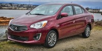 New, 2020 Mitsubishi Mirage G4, Gray, 16590-1