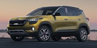 New, 2021 Kia Seltos S, Yellow, 21K336-1