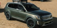 New, 2021 Kia Telluride S, Green, 21K229-1