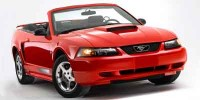 Used, 2003 Ford Mustang Deluxe, Silver, H20056A-1