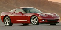 Used, 2005 Chevrolet Corvette 2dr Cpe, Yellow, 1259-1