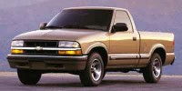 Used, 2001 Chevrolet S-10 LS, Red, BC2733A-1