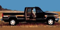 Used, 1997 Chevrolet C/K 1500, Black, P2413-1