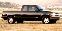 Used, 1998 Chevrolet C/K 1500 Silverado, Red, T0025A-1