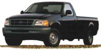 Used, 1998 Ford F-150, Green, HP56350-1