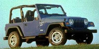 Certified, 1998 Jeep Wrangler 2-door Sport, Green, 81311B-1