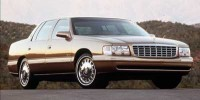 Used, 1999 Cadillac DeVille, Silver, C12998C-1