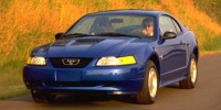 Used, 1999 Ford Mustang 2DR CPE, Black, V5053A-1