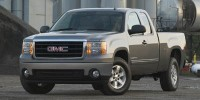 Used, 2007 GMC Sierra 1500 SLE2, Black, H19506B-1