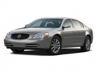 Used, 2008 Buick Lucerne CXL, Red, GP3716-1