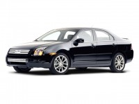 Used, 2008 Ford Fusion SE, Black, C11911A-1