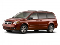 Used, 2008 Dodge Grand Caravan SXT, Red, D18D54A-1