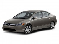 Used, 2008 Honda Civic LX, Blue, DL392AB-1