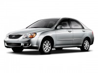 Used, 2008 Kia Spectra 4-door Sedan Auto EX, Blue, DL174C-1