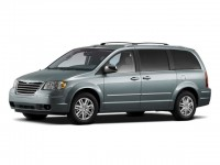 Used, 2009 Chrysler Town & Country Touring, Red, CD12945B-1