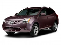 Used, 2009 Nissan Rogue SL, White, C18J60A-1