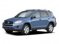Used, 2009 Toyota RAV4 4WD 4dr 4-cyl 4-Spd AT (Natl), Red, 19K270A-1