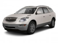 Used, 2010 Buick Enclave CXL w/1XL, Red, GP4384A-1
