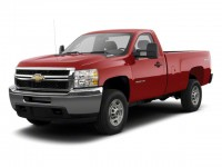 Used, 2010 Chevrolet Silverado 2500HD Work Truck, Blue, 20CF298A-1