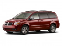 Used, 2010 Dodge Grand Caravan SE, Red, D19D18A-1