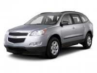 Used, 2011 Chevrolet Traverse LTZ, White, GP4120-1