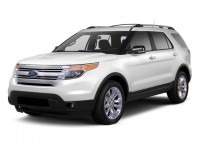 Used, 2011 Ford Explorer Limited, White, JL190A-1