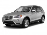 Used, 2011 BMW X3 28i, Black, 11833-1