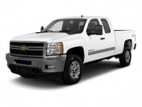 Used, 2012 Chevrolet Silverado 2500HD Work Truck, White, 18807-1
