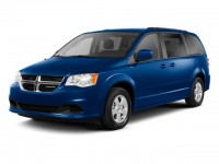 Used, 2012 Dodge Grand Caravan Crew, Black, DP53950-1