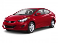 Used, 2012 Hyundai Elantra Limited, Black, CK193A-1