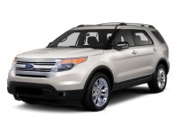 Used, 2013 Ford Explorer XLT, White, H20953A-1
