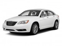 Used, 2013 Chrysler 200 Touring, Red, JL140A-1