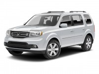 Certified, 2013 Honda Pilot 4WD 4-door Touring w/RES & Navi, White, U06597T-1