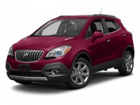 Used, 2014 Buick Encore Leather, White, 18798-1
