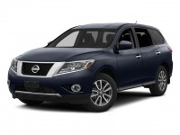 Used, 2014 Nissan Pathfinder SL, Red, 11717-1