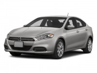Used, 2014 Dodge Dart Limited, White, JL341B-1