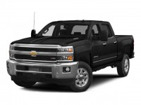 Certified, 2015 Chevrolet Silverado 2500HD LTZ, Black, 19C1000A-1