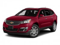 Certified, 2015 Chevrolet Traverse LT, Red, GN3800-1