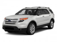 Used, 2015 Ford Explorer XLT, White, 21C16A-1