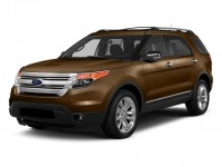 Used, 2015 Ford Explorer XLT, Brown, P15766-1