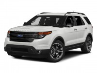 Used, 2015 Ford Explorer Sport, White, JL552A-1