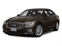 Certified, 2015 INFINITI Q50 4-door Sedan Sport RWD, Black, 200825U-1