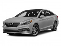 Certified, 2015 Hyundai Sonata 4-door Sedan 2.4L SE PZEV, Black, U83949P-1