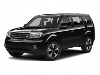Certified, 2015 Honda Pilot 4WD 4-door SE, Black, U06563O-1
